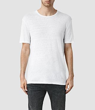 Mens Faxley Crew T-Shirt (White)