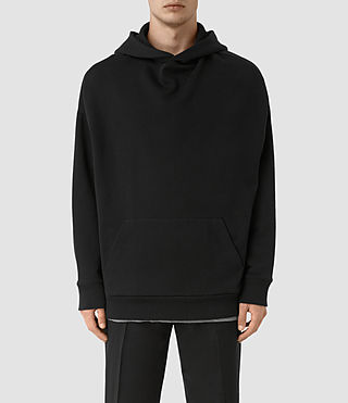 Men's Wiltson Pullover Hoody (Jet Black) -