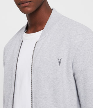 Uomo Raven Sweat Bomber (Grey Marl) - product_image_alt_text_2