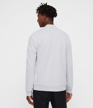 Men's Raven Sweat Bomber (Grey Marl) - Image 3