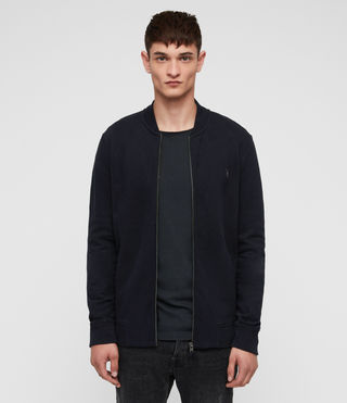 Mens Raven Sweat Bomber (INK NAVY) - product_image_alt_text_1
