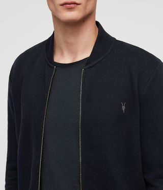 Mens Raven Sweat Bomber (INK NAVY) - product_image_alt_text_2