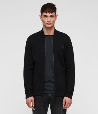 Men's Raven Sweat Bomber (Black) - Image 1