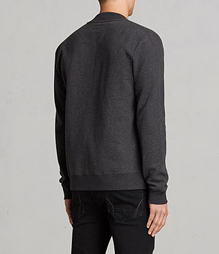 Hombres Raven Sweat Bomber (Charcoal Marl) - product_image_alt_text_4