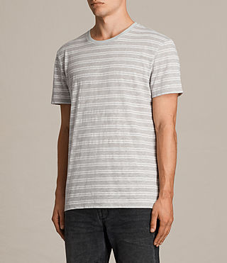 Uomo T-shirt Sertua maniche corte (GREY MOULINE/CHALK) - product_image_alt_text_3