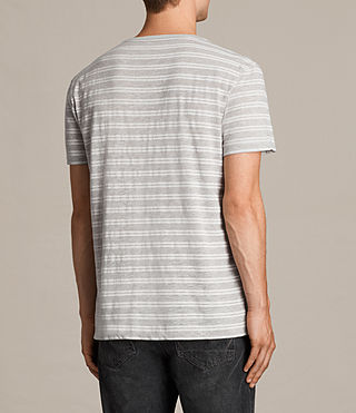 Uomo T-shirt Sertua maniche corte (GREY MOULINE/CHALK) - product_image_alt_text_4