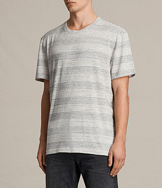 Mens Dieta Crew T-Shirt (CHALK WHITE/BLACK) - product_image_alt_text_2