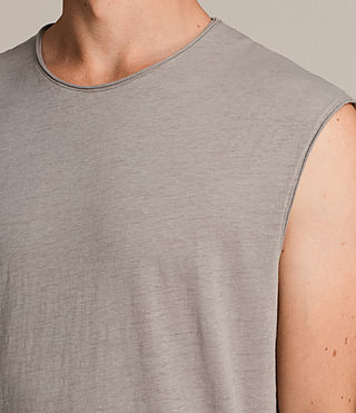 Hombre Camiseta sin mangas Tehson (Putty Grey) - Image 2