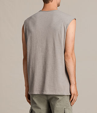 Hombre Camiseta sin mangas Tehson (Putty Grey) - Image 4