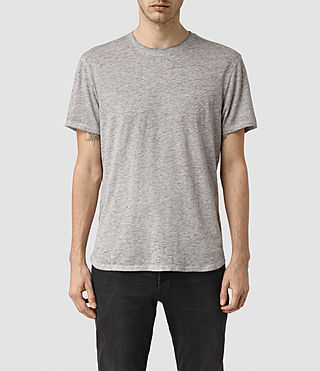 Mens Jaitress Crew T-Shirt (Grey Marl)