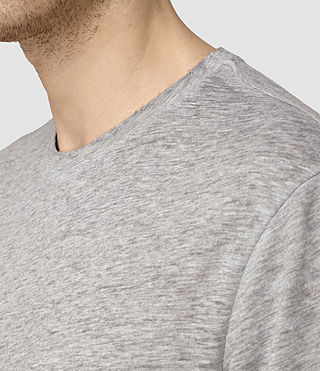 Men's Jaitress Crew T-Shirt (Grey Marl) - product_image_alt_text_2