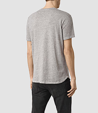 Men's Jaitress Crew T-Shirt (Grey Marl) - product_image_alt_text_4