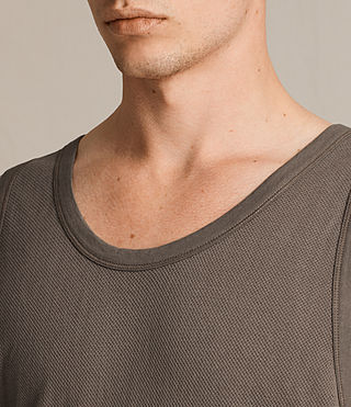 Mens Hiruma Vest (Washed Khaki) - product_image_alt_text_2