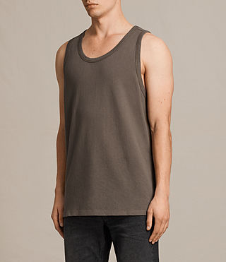 Mens Hiruma Vest (Washed Khaki) - product_image_alt_text_3