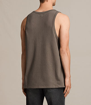 Mens Hiruma Vest (Washed Khaki) - product_image_alt_text_4