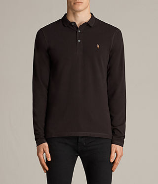 reform long sleeved polo shirt