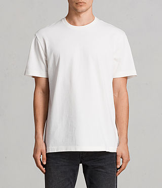Men's Monta Crew T-Shirt (Chalk White) - Image 1