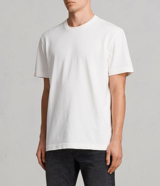 Men's Monta Crew T-Shirt (Chalk White) - Image 2