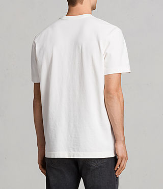 Men's Monta Crew T-Shirt (Chalk White) - Image 3