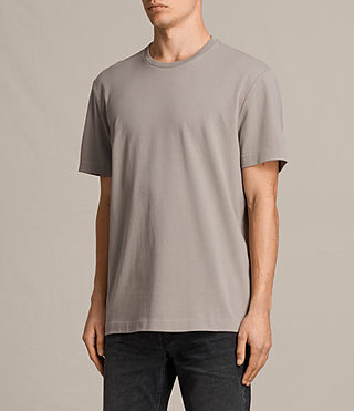 Hommes T-shirt Monta (Putty Brown) - product_image_alt_text_2