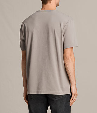 Hommes T-shirt Monta (Putty Brown) - product_image_alt_text_3