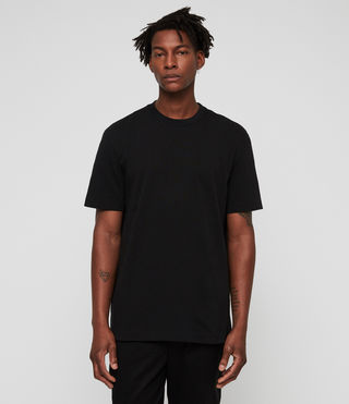 Men's Monta Crew T-Shirt (Jet Black) - Image 1