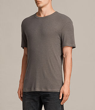 Hombre Camiseta de manga corta Kurtise (Khaki Brown) - product_image_alt_text_3