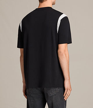 Herren Solen Crew T-Shirt (Black/Chalk) - product_image_alt_text_3