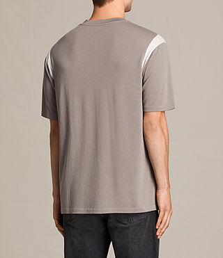 Herren Solen Crew T-Shirt (PUTTY BROWN/CHALK) - Image 3
