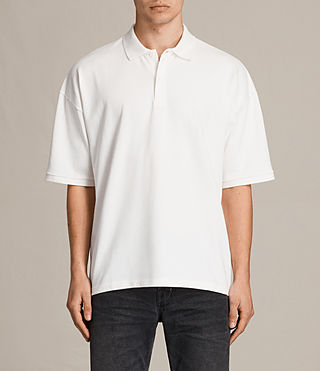 Men's Ivon Polo Shirt (Chalk White) -