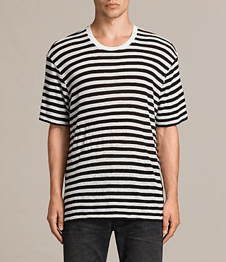 Men's Yeshi Crew T-Shirt (CHALK WHITE/BLACK) -