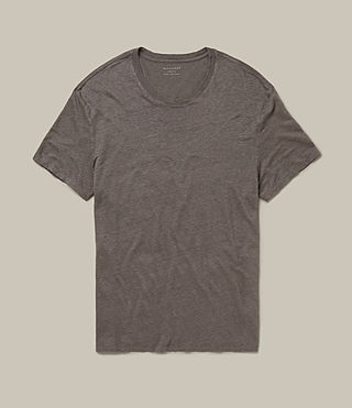 Mens Lucas Crew T-Shirt (ANTHRACITE GREY) - product_image_alt_text_1
