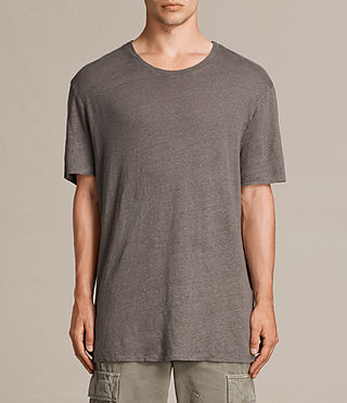 Uomo T-shirt Lucas maniche corte (ANTHRACITE GREY) - product_image_alt_text_2