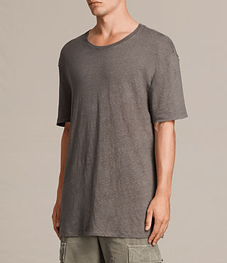 Men's Lucas Ss Crew (ANTHRACITE GREY) - Image 4