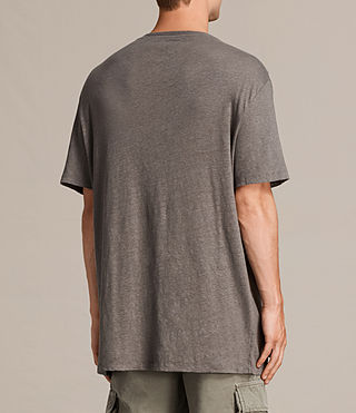 Uomo T-shirt Lucas maniche corte (ANTHRACITE GREY) - product_image_alt_text_5