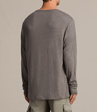 Hommes T-shirt à manches longues Lucas (ANTHRACITE GREY) - product_image_alt_text_5
