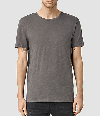 Mens Merit Crew T-Shirt (Slate Grey) - product_image_alt_text_1