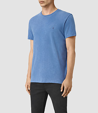 Uomo Merit Crew T-Shirt (DEFT BLUE) - product_image_alt_text_3