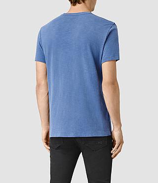Uomo Merit Crew T-Shirt (DEFT BLUE) - product_image_alt_text_4