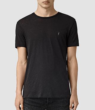 Hombres Merit Crew T-Shirt (Olive) -