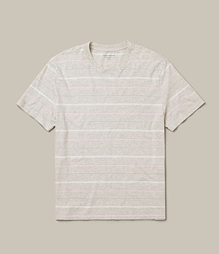 Men's Reef Crew T-Shirt (Chalk Marl) -