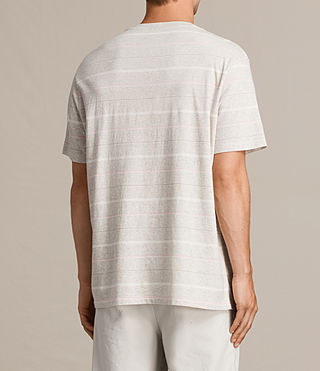 Men's Reef Crew T-Shirt (Chalk Marl) - product_image_alt_text_5