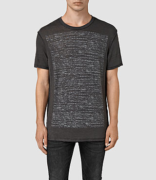 Hombre Cadfer Ss Crew (Washed Blk/Chalk) - product_image_alt_text_1