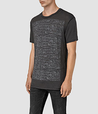 Hombre Cadfer Ss Crew (Washed Blk/Chalk) - product_image_alt_text_2