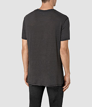 Hombre Cadfer Ss Crew (Washed Blk/Chalk) - product_image_alt_text_3