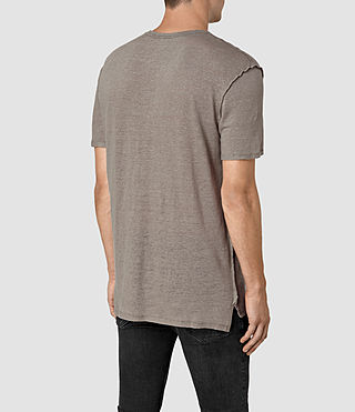 Mens Cadfer Reverse T-Shirt (PUTTY BROWN/BLACK) - product_image_alt_text_3