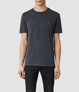 Mens Brace Tonic Crew T-Shirt (Washed Black)