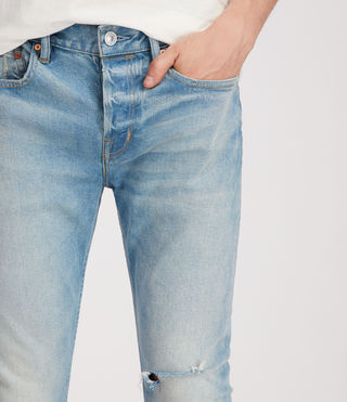 Men's Index Cigarette Jeans (Indigo) - Image 2