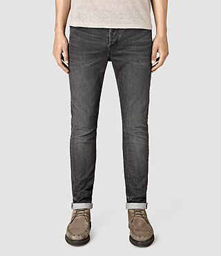 Men's Morar Cigarette Jeans (Black)