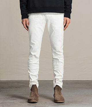 Men's Weott Rex Jeans (White)